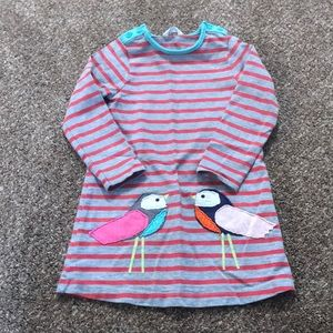 Baby Boden Birdie Dress/Tunic